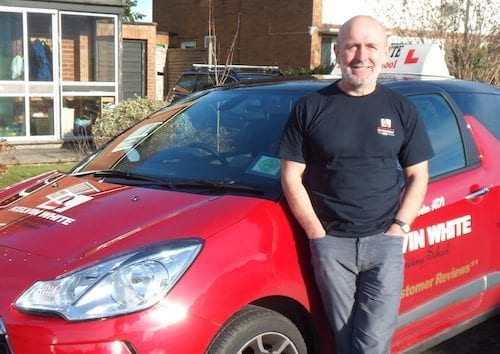 Driving Instructor Steve Hales