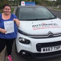 Automatic Test Pass for Emma Day