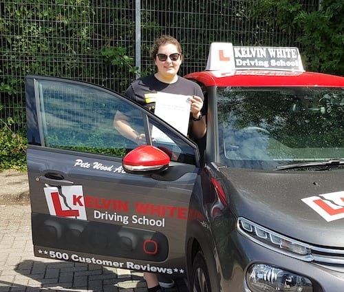 Congratulations to James Godwin of Bridgwater on his driving test pass.